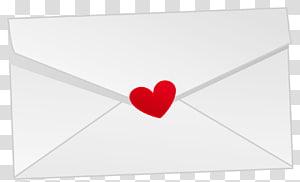 huruf putih disegel dengan ilustrasi hati merah, Paper Red Love Font, Valentine Letter png