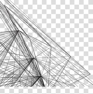 Garis jala, ilustrasi garis tali hitam] png