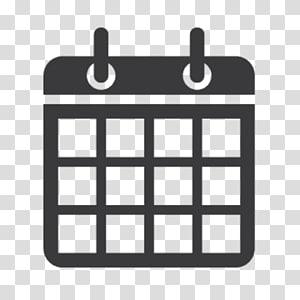 kotak hitam dengan logo beberapa panel, ikon komputer informasi waktu tanggal kalender, ikon kalender PNG clipart