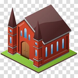 ilustrasi bangunan merah dan coklat, bangunan atap rumah arsitektur abad pertengahan, Candi png
