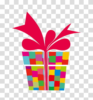 kotak hadiah warna-warni, kue ulang tahun, Hadiah Lilin, Hadiah png