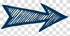 panah putih dan biru, Panah Euclidean, Panah arah png