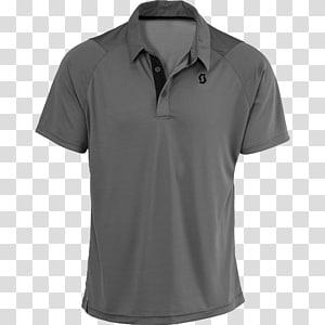 kemeja polo abu-abu, T-shirt Polo shirt, Polo shirt png