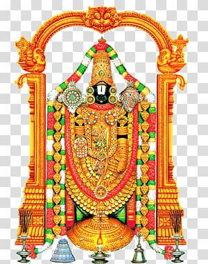 Dewa Hindu, Kuil Tirumala Venkateswara Dewa Dewa Krishna, Dewa png