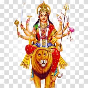 ilustrasi dewi hindu, Navaratri Durga Puja Hindi Lakshmi, Lakshmi png