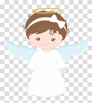 gadis malaikat dengan ilustrasi ikat kepala putih, Ekaristi Baptisan, malaikat png