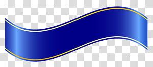 Logo Merek Font, Blue Banner, ilustrasi biru png