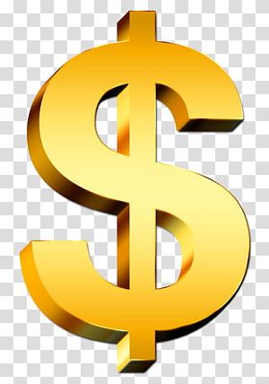 logo dolar, tanda Dolar Dolar Amerika Serikat, Tanda Dolar png