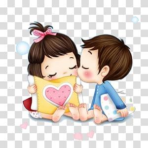 ilustrasi cewek dan cowok, iPhone 5s Love Romance, materi kartun pasangan png