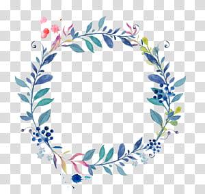 Stiker T-shirt iPhone 8 Cari & Simpan, Poster biru berbingkai kecil yang dilukis dengan tangan, karangan bunga png