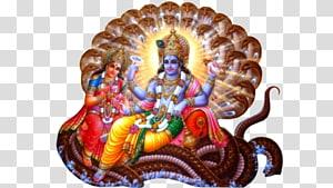 Ilustrasi agama, Shiva Lakshmi Vishnu Durga Devi, Dewa Krishna png
