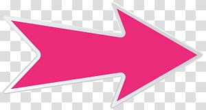 Arrow, Arrow Pink Right, panah merah PNG clipart