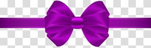 Ribbon, Bow Purple, bowtie ungu png