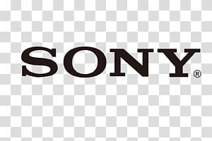 Logo Sony, Sony u03b17 Logo Lensa kamera, bahan logo Sony png