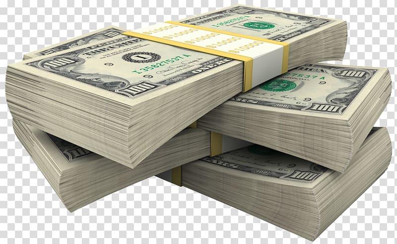 Bundel Dolar, bundel uang kertas dolar AS png