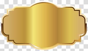Label Templat, Templat Label Emas, lambang emas PNG clipart
