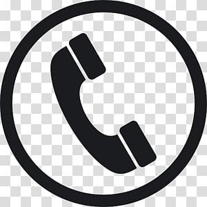 logo telepon hitam bulat, Ikon Telepon, File Telepon png