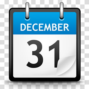 komunikasi merek teks area, Kalender, 31 Desember ilustrasi PNG clipart