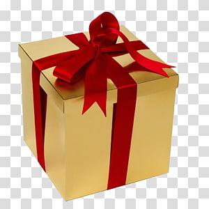 kotak hadiah coklat dan merah, Kotak pembungkus kado Hadiah Natal Kartu hadiah, hadiah png