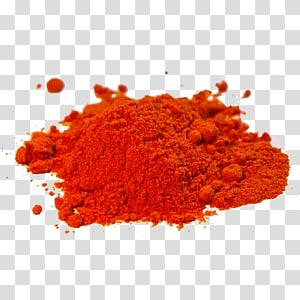 tumpukan bubuk jeruk, masakan India paprika rempah-rempah bubuk cabai, paprika png