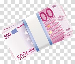 500 Franc euro uang kertas, 500 euro note Uang Kertas Uang, 500 Euro Wads png