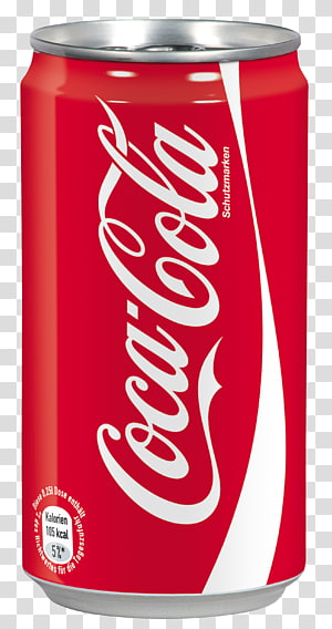 Coca-Cola can, Coca Cola can PNG clipart