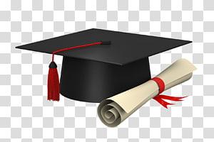 papan mortir hitam dan sertifikat, tutup akademik Diploma Square, Sertifikat akademis, Sarjana, Pelajar png