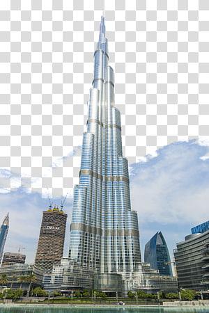 Burj Khalifa, Dubai, Burj Khalifa, Burj Al Arab Taipei 101 Arsitektur, Bangunan megah di Dubai png