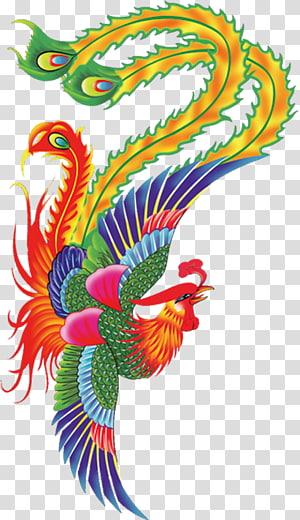 ilustrasi ayam warna-warni, lukisan Cat Air Tinta Merah, efek Cat Air anggur merah PNG clipart