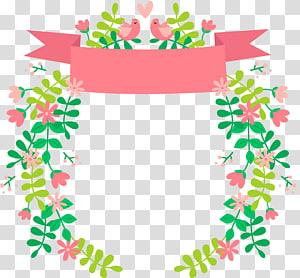 ilustrasi burung dan bunga, Ilustrasi Kehamilan pasangan, Menanam buket pengantin png