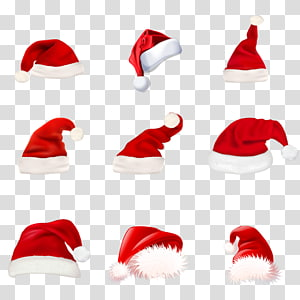 sembilan topi Natal, Santa Claus Natal, topi Natal png