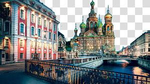 jembatan beton warna-warni dekat ilustrasi sungai, Gereja Juruselamat atas Darah Musim Dingin Istana Peter the Great St. Petersburg Polytechnic University Moscow Imop Spbgpu, St. Petersburg, Rusia empat PNG clipart