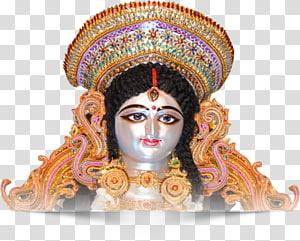 Patung Dewi Hindu, Durga Puja Lakshmi Kali, Durga MAA png
