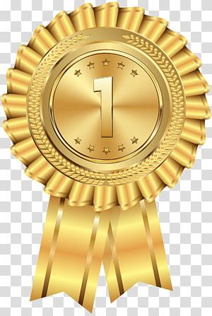 tidak.1 ilustrasi medali emas, medali emas, medali emas png