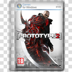 Prototipe 2 PC DVD case, video game software action figure pc game konsol permainan rumah, Prototype 2 PNG clipart