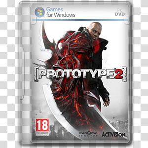 Prototipe 2 PC DVD case, video game software action figure pc game konsol permainan rumah, Prototype 2 png