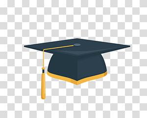 Student Square cap Wisuda upacara topi, topi Sarjana, ilustrasi mortar png