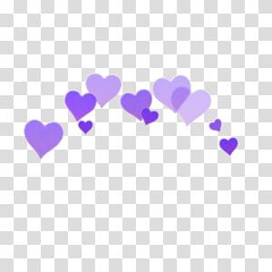 hati pink dan ungu, Ikon Komputer Penyuntingan Jantung, BOOTH png