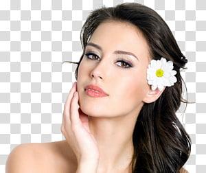 wajah wanita, Salon Kecantikan Wanita Mode Rambut meluruskan, wajah PNG clipart