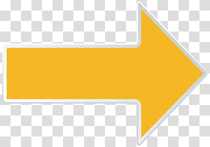signage panah kiri kuning, Line Area Area Merek, Panah Kuning Kanan PNG clipart