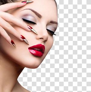 close-up wanita menutup matanya, Light-emitting diode Ultraviolet Gel kuku Cat kuku, makeup makeup makeup wanita PNG clipart