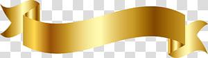 ilustrasi pita emas, Pita, Desain pita emas png