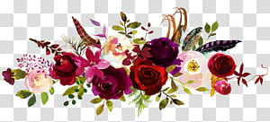 Undangan pernikahan Simpan tanggal Bunga karangan bunga, peony cat air, bunga putih, merah, dan ungu png