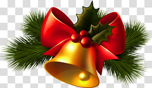 Christmas Jingle bell, Christmas Golden Bell, ilustrasi lonceng Natal png