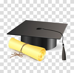 ilustrasi topi akademik persegi, upacara Wisuda topi akademik persegi, Dr. cap png