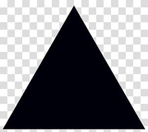 ilustrasi hitam segitiga, Segitiga Ikon Komputer Grafik Terukur, Segitiga png