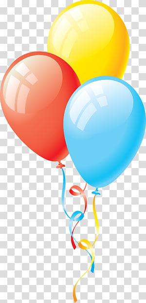 ilustrasi balon tiga macam warna, Balon, Balon 5 png