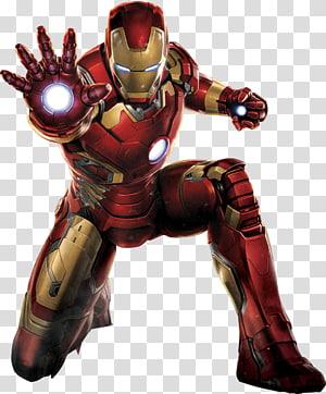 Ilustrasi Iron Man, Iron Man Hulk Captain America Black Widow Clint Barton, Cool Iron Man png