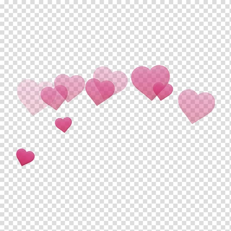 hati merah, Desktop Sticker Emoji, Heart crown png