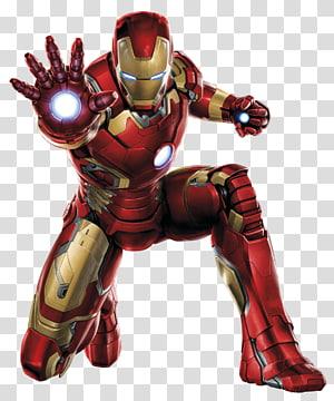 Iron Man Black Widow Hulk Captain America Clint Barton, Iron Man, Iron Man Mark 42 ilustrasi png